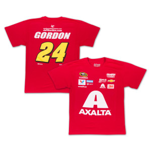 Jeff Gordon - 2015 Chase Authentics  Axalta Adult Uniform Tee