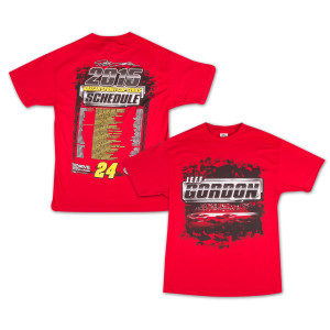 Jeff Gordon  - Driver 2015 Schedule Tee