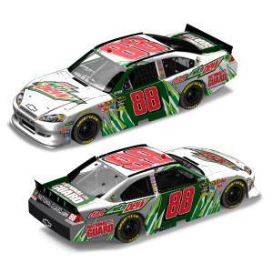 Dale Jr #88 2012 Diet Mountain Dew 1:24 Scale DieCast Frost
