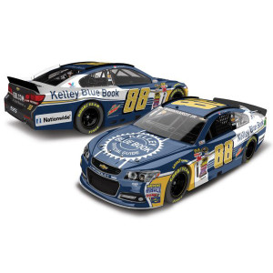 Dale Jr. 2015 #88 Kelly Blue Book 1:64 Scale Nascar Sprint Cup Series Die-Cast
