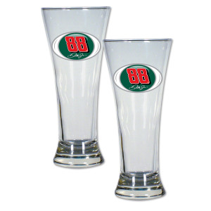 Dale Jr #88 2 pc Pilsner Glass Gift Set