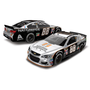 Dale Jr. 2016 #88 Darlington Nationwide Grey Ghost Retro 1:24 Scale Die-Cast