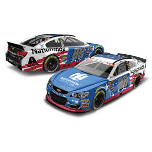 Dale Jr. 2016 #88 Nationwide Stars & Stripes 1:64 Scale Nascar Sprint Cup Series Die-Cast