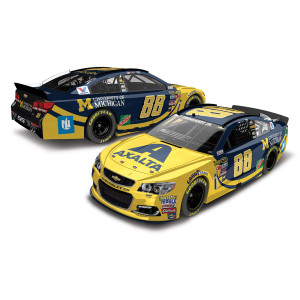 Dale Jr. 2016 #88 Axalta Coating Systems / University of Michigan Nascar Sprint Cup Series 1:24 Die-Cast