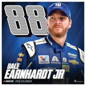 "Dale Earnhardt Jr. #88 2018 12""x 12"" Wall Calendar"