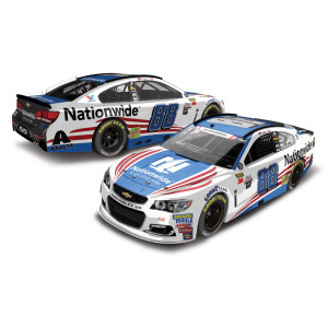 Dale Earnhardt, Jr. 2017 NASCAR Cup Series No. 88 Nationwide Patriotic 1:24 Die-Cast