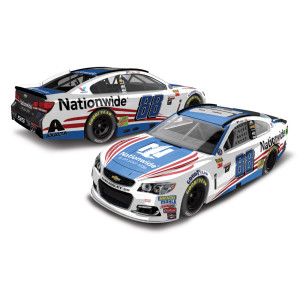 Dale Earnhardt, Jr. 2017 NASCAR Cup Series No. 88 Nationwide Patriotic 1:64 Die-Cast