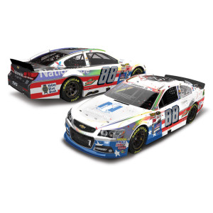 Dale Earnhardt, Jr. 2015 NASCAR Cup Series No. 88 25th Career Win Stars & Stripes 1:24 Die-Cast
