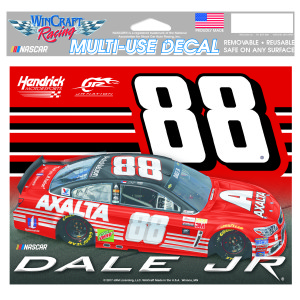 "Dale Jr #88 2017 Homestead/Miami Multi-Use Decal - 4.5"" x 6"""