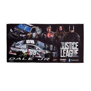 "Dale Jr #88 2017 Justice League Beach Towel - 30"" x 60"""