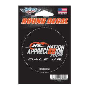 JR Nation Appreci88ion Round Decal