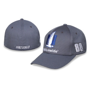 Dale Jr. #88 Nationwide Driver Hat Grey