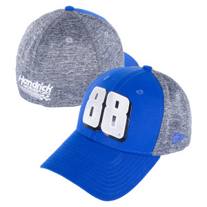 Dale Jr. #88 New Era Shadow Chrome 39THIRTY Flex Hat