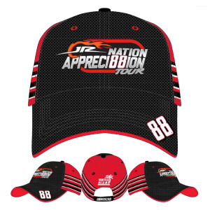 Dale Jr #88 2017 Homestead/Miami Axalta Stripes Hat