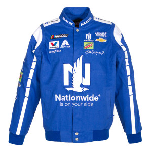 Dale Earnhardt Jr 2017 Nationwide Insurance Twill Jacket