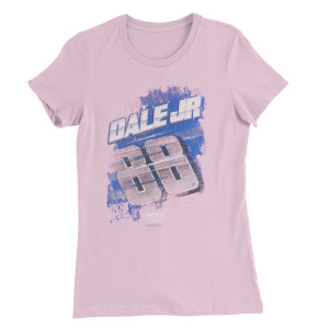 Dale Earnhardt Jr #88 Breast Cancer Awareness Ladies T-shirt
