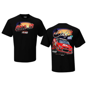 Dale Jr #88 2017 Homestead/Miami Axalta 2 Spot T-shirt