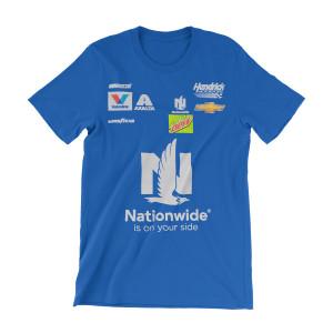 Dale Earnhardt Jr #88 2017 Youth Uniform T-shirt