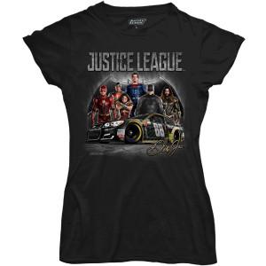 Dale Jr Ladies JL All Character T-shirt