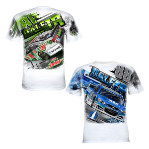 Dale Jr. Adult Total Print T-shirt