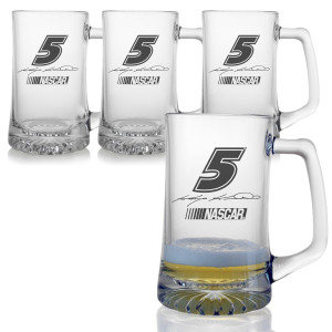 Kasey Kahne 25oz Sports Mug - Set of 4
