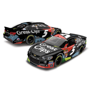 Kasey Kahne 2015 #5 Great Clips Cable 1:64 Scale Nascar Sprint Cup Series Die-Cast