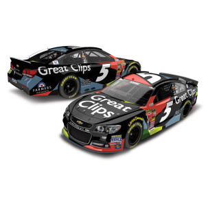 Kasey Kahne 2015 #5 Great Clips Cable 1:24 Scale Nascar Sprint Cup Series Die-Cast