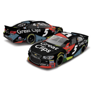 Kasey Kahne 2016 #5 Great Clips 1:64 Scale Nascar Sprint Cup Series Die-Cast