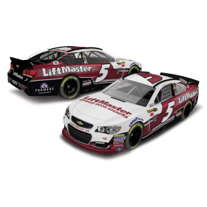 Kasey Kahne 2016 #5 LiftMaster 1:24 Nascar Sprint Cup Series Scale Die-Cast