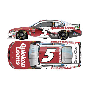 Kasey Kahne 2016 #5 Quicken Loans 1:24 Scale Nascar Sprint Cup Series Die-Cast