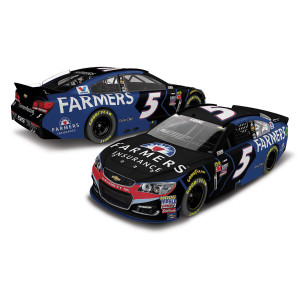 Kasey Kahne 2017 #5 Farmer's Insurance 1:24 Scale Nascar Cup Series Die-Cast