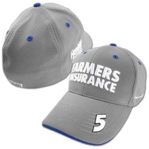 Kasey Kahne #5 Farmers Dual Threat Stretch Fit Hat