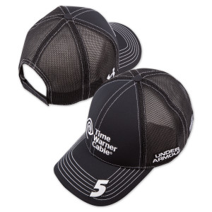 Kasey Kahne #5 Time Warner Cable Official HMS Team Hat by Under Armour