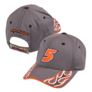 Kasey Kahne #5 Camo Flame Hat