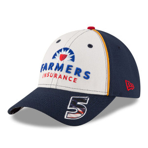 Kasey Kahne #5 Farmers Insurance American Salute 9FORTY Adjustable Hat