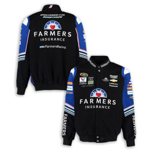 Kasey Kahne #5 Farmers Cotton Twill Driver Jacket