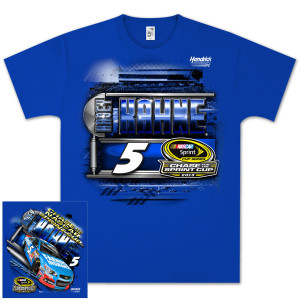 Kasey Kahne #5 Farmers 2013 Chase for Cup T-shirt