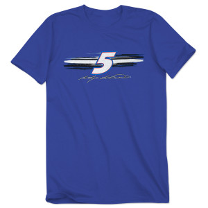 Kasey Kahne #5 Adult Fan Up Tee