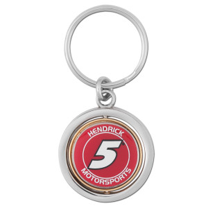Hendrick MotorSports #5 Rotating Key Chain-spinner