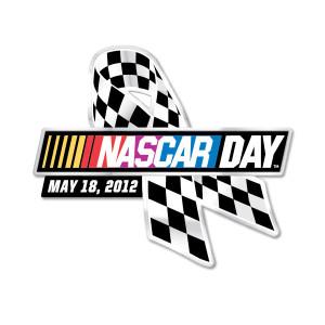 2012 NASCAR Day Pin