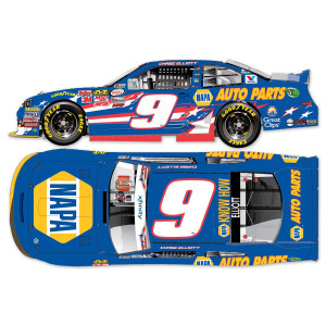 Chase Elliott 2015 #9 An American Salute 1:24 Scale Nascar Sprint Cup Series Die-Cast