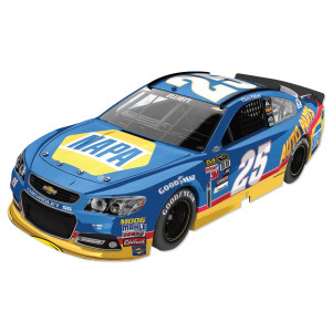 Chase Elliott 2015 #9 Million Dollar Bill Darlington Throwback 1:24 Scale Nascar Sprint Cup Series Die-Cast