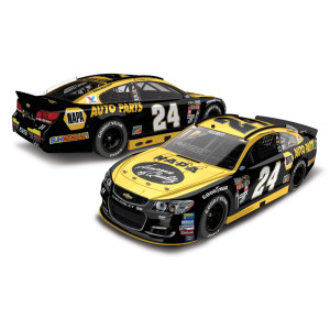 Chase Elliott 2016 #24 NAPA Darlington Throwback 1:24 Scale Nascar Sprint Cup Series Die-Cast