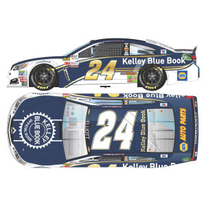 Chase Elliott 2017 #24 Kelley Blue Book 1:24 Scale NASCAR Die-Cast