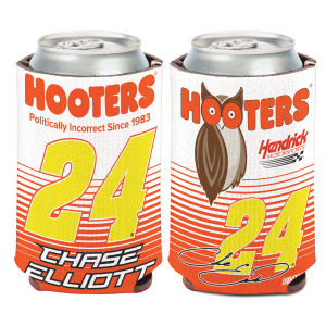 Chase Elliott #24 2017 Hooters Can Cooler - 12oz