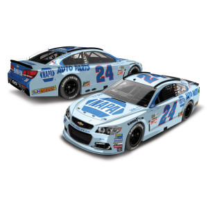 Chase Elliott 2017 NASCAR Cup Series No. 24 NAPA Throwback 1:24 Die-Cast