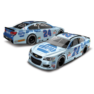 Chase Elliott 2017 NASCAR Cup Series No. 24 NAPA Throwback 1:64 Die-Cast