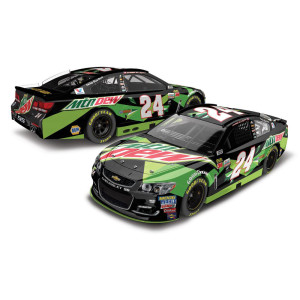Chase Elliott 2017 NASCAR Cup Series No. 24 All-Star Mtn Dew 1:24 Die-Cast