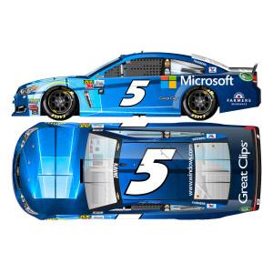 Kasey Kahne 2017 NASCAR Cup Series No. 5 Microsoft 1:24 Die-Cast