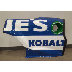 Jimmie Johnson 2017 Lowe's Qtr Panel